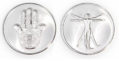 Hand - Da Vinci Silver Mi Moneda