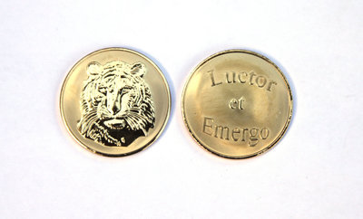 Tiger - Luctor et Emergo Gold Medium