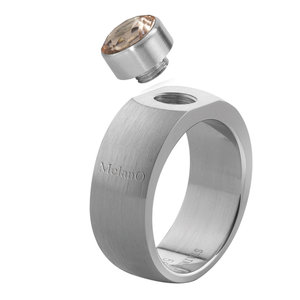 Sturdy Mat MelanO ring Rond 8mm Maat 51