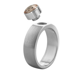 6mm Sturdy Mat MelanO ring Rond Maat 61
