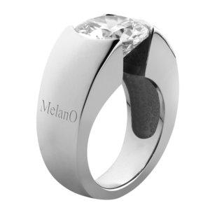 MelanO Briljant Ring - wisselbare ring