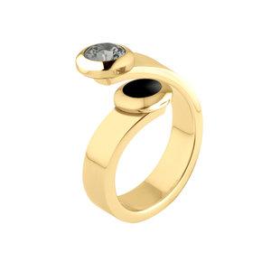 Sale: Gold Vivid ring Violet Melano