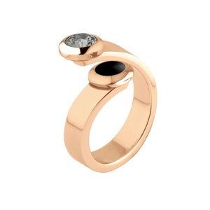 Sale: Rose Gold Vivid ring Violet Melano