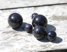 Purple Goldstone Edelsteen Cateye Melano