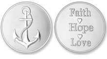 Faith, Hope, Love Silver Mi Moneda