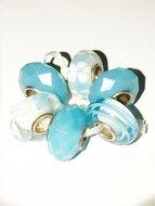 Blue is our colour Glaskralen set