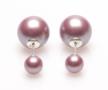 Karma-Double-Dots-Violet-Oorbellen-11136